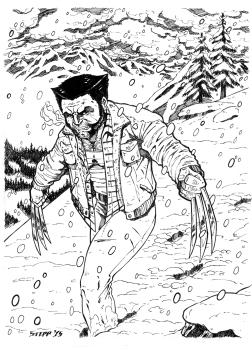 Snow Wolverine